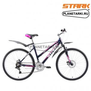 Велосипед Stark Luna 26.1 D 2017 черно-фиолетовый
