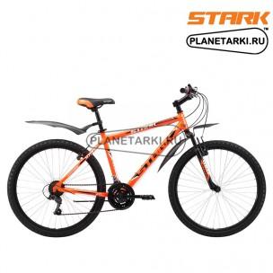 Велосипед Stark Outpost 26.1 V 2017 оранжево-черный