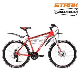 Велосипед Stark Router 26.2 D 2017 красно-белый