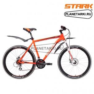 Велосипед Stark Router 26.3 D 2017 оранжево-белый