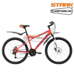 Велосипед Stark Slash 26.1 D 2017 оранжево-синий