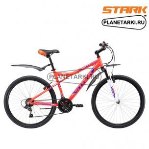 Велосипед Stark Slash 26.1 V 2017 оранжево-синий