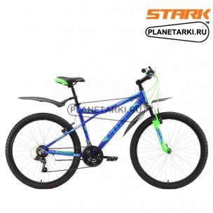 Велосипед Stark Slash 26.1 V 2017 сине-зеленый