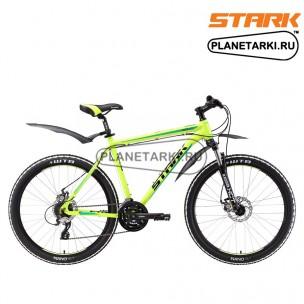 Велосипед Stark Tactic 26.4 D 2017 желто-зеленый