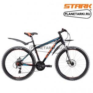 Велосипед Stark Tactic 26.4 D 2017 черно-оранжевый