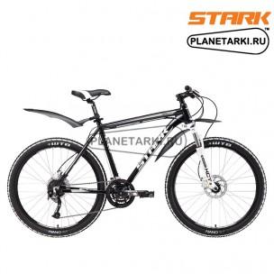 Велосипед Stark Tactic 26.5 HD 2017 черно-серебристый