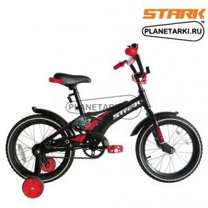 Велосипед Stark Tanuki 16 Boy 2017 черно-красный