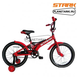 Велосипед Stark Tanuki 18 Boy 2017 красно-черный