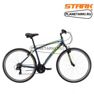 Велосипед Stark Terros 28.2 V 2017 серо-зеленый