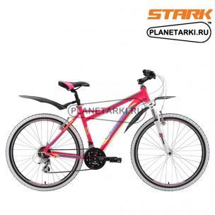 Велосипед Stark Ultra 26.3 V 2017 розово-желтый