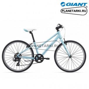 Велосипед Giant Alight 24 2017 синий/белый