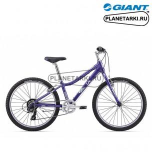 Велосипед Giant Enchant 24 Lite 2017 пурпур/белый