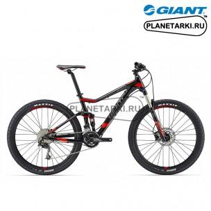 Велосипед Giant Stance 2 2017 черный/красный