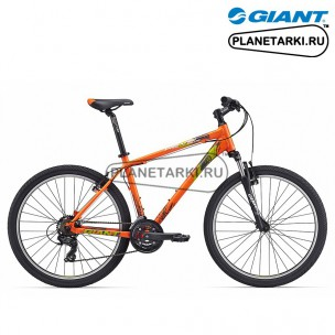 Велосипед Giant Revel 2 2017 оранжевый/жёлтый