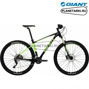 Велосипед Giant Fathom 29er 2 LTD 2017 черный/зеленый