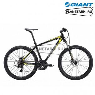Велосипед Giant ATX 2 2017 черный/жёлтый