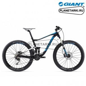 Велосипед Giant Anthem 3 2017 черный/белый/синий