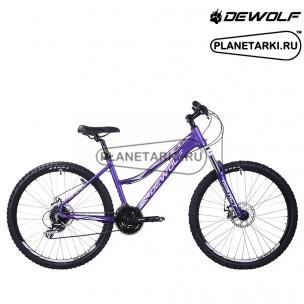 Велосипед Dewolf GL 65 2017 темно-фиолетовый