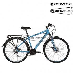 Велосипед Dewolf Asphalt 3 2017 темно-синий