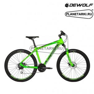 Велосипед Dewolf TRX 50 2017 зеленый неон