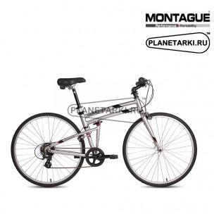 Велосипед Montague Crosstown 2017 серебристый