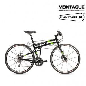 Велосипед Montague FIT 2017 черный/зеленый