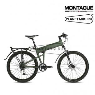 Велосипед Montague Paratrooper 2017 зеленый