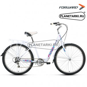 "Велосипед Forward Grace 1.0 26"" 2016 белый"