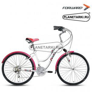 """Велосипед Forward Evia 2.0 26"""" 2016 белый"""