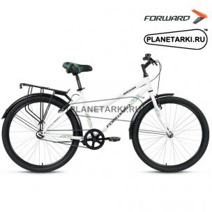 """Велосипед Forward Barcelona 1.0 26"""" 2017 белый"""