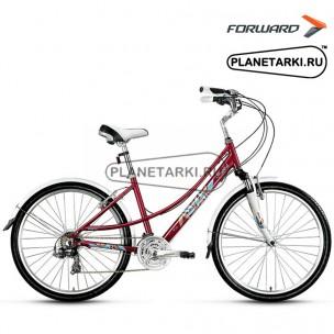 """Велосипед Forward Azure 2.0 26"""" 2016 бордовый"""