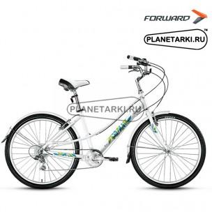 """Велосипед Forward Azure 1.0 26"""" 2016 белый"""