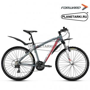 """Велосипед Forward Agris 1.0 26"""" 2016 серый"""