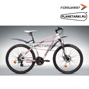 "Велосипед Forward Agris 1.0 disc 26"" 2014 белый"