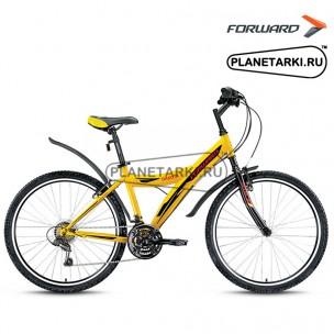 """Велосипед Forward Dakota 26 1.0 26"""" 2017 желтый"""