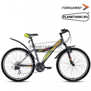 "Велосипед Forward Dakota 2.0 26"" 2016 серый"