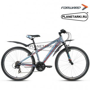 "Велосипед Forward Flash 3.0 26"" 2017 серый"