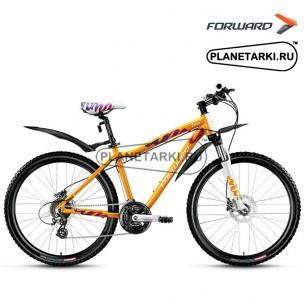 """Велосипед Forward Lima 3.0 disc 26"""" 2016 желтый"""
