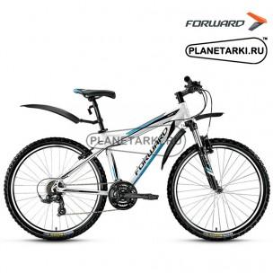 "Велосипед Forward Quadro 1.0 26"" 2016 белый"