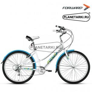 """Велосипед Forward Azure 1.0 26"""" 2017 белый"""