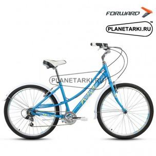 "Велосипед Forward Azure 1.0 26"" 2017 синий"