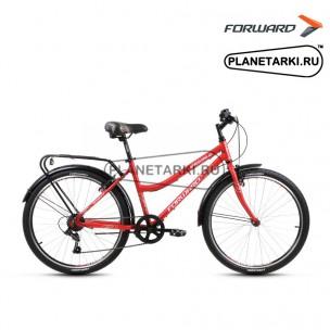 """Велосипед Forward Barcelona Air 1.0 26"""" 2017 бордовый"""