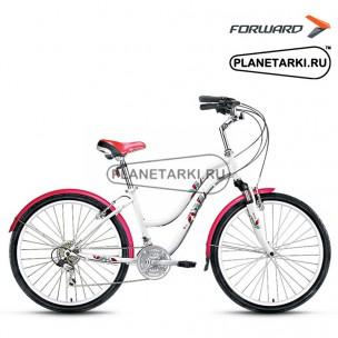 """Велосипед Forward Evia 2.0 26"""" 2017 белый"""