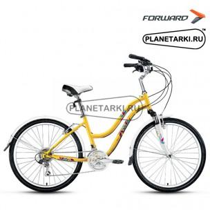 "Велосипед Forward Evia 2.0 26"" 2017 желтый"