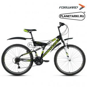 """Велосипед Forward Raptor 1.0 26"""" 2017 черный"""