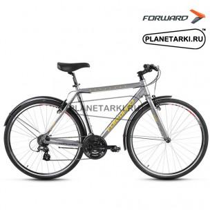 "Велосипед Forward Rockford 1.0 28"" 2017 серый"