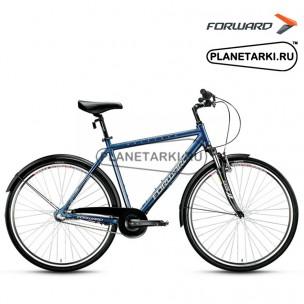 """Велосипед Forward Rockford 2.0 28"""" 2017 синий"""