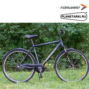 """Велосипед Forward Rockford 2.0 28"""" 2017 черный"""