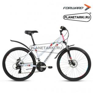 """Велосипед Forward Seido 2.0 disc 26"""" 2017 белый"""