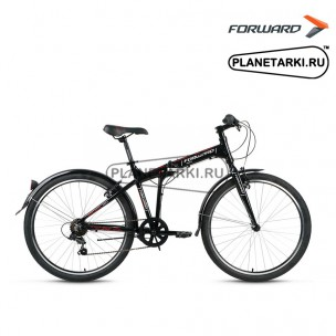 """Велосипед Forward Tracer 1.0 26"""" 2017 черный"""